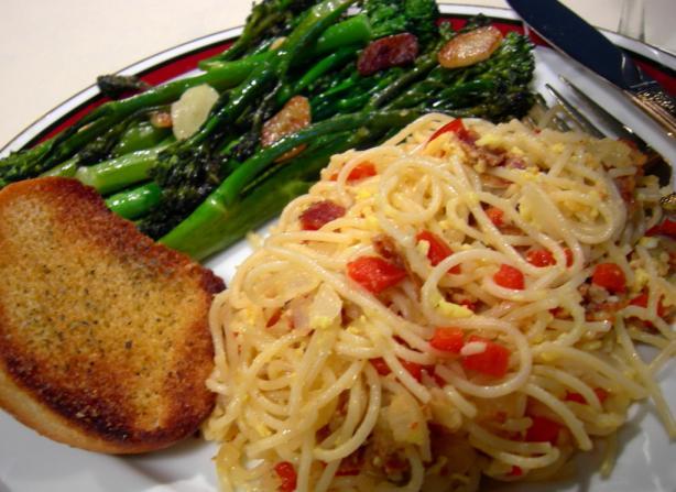 Canadian Spaghetti Carbonara