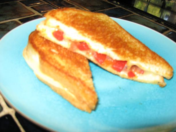 Kicked up Grilled Bologna/Cheese Sandwich