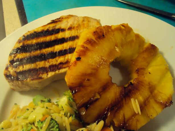 Pineapple Marinated Pork