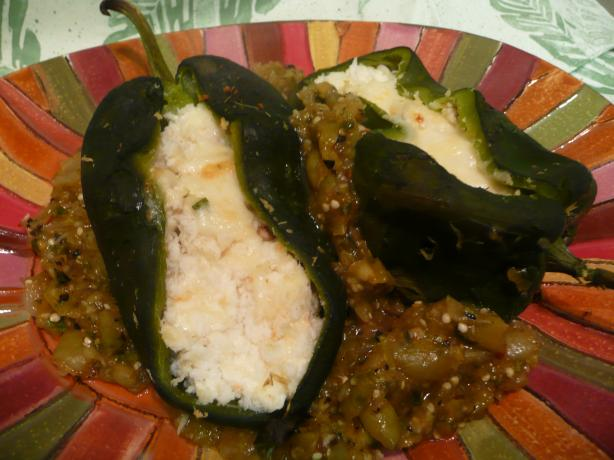 Stuffed Cha-Cha Crab Chilies