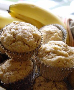 Wholemeal Banana Muffins