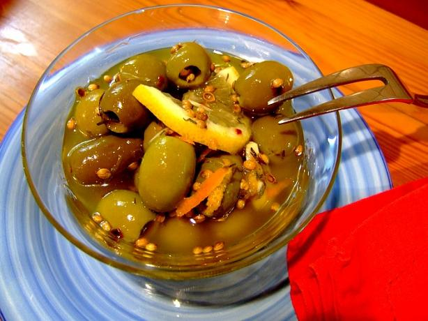 Gourmet Green Olives