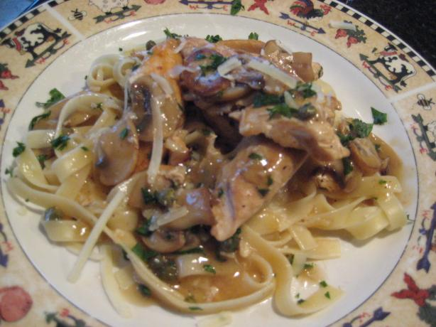 Chicken Piccata Fettuccine