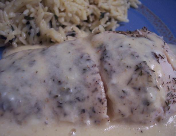 Quick Chicken With Gouda Gravy