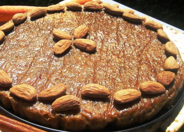 Passover Carrot Almond Cake