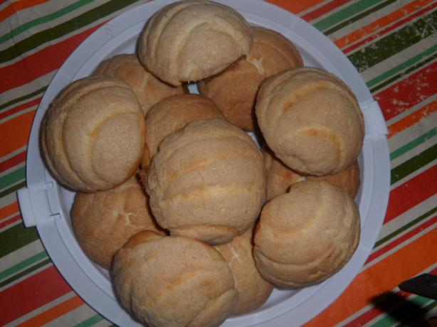 Bread Machine Conchas
