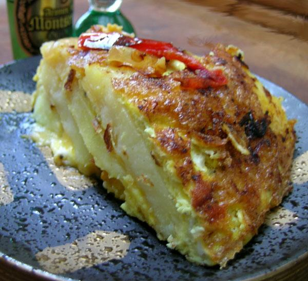 Pepper and Potato Tortilla