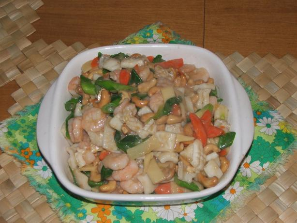 Seafood - Prawn & Squid Stir-Fry