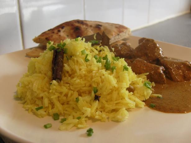 Turmeric Rice by Madhur Jaffrey