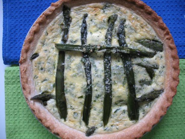 Hollandaise-Asparagus Tart