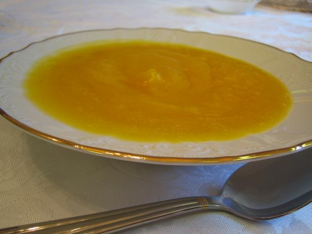 Creamed Butternut Squash Soup