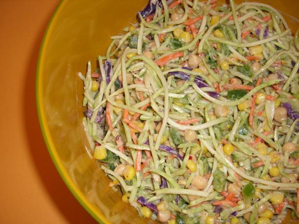 Lemon Garlic Brocco Slaw