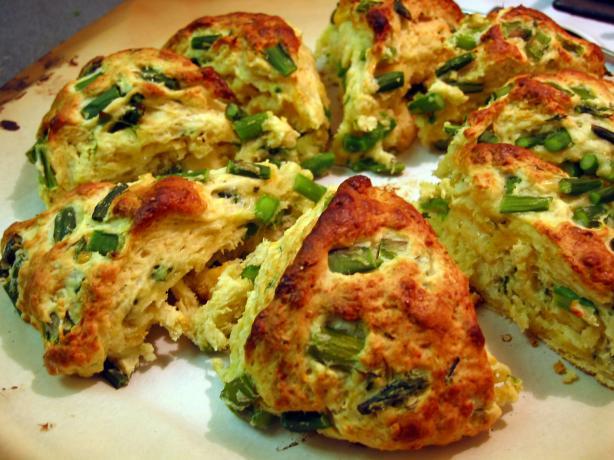Asparagus Scones