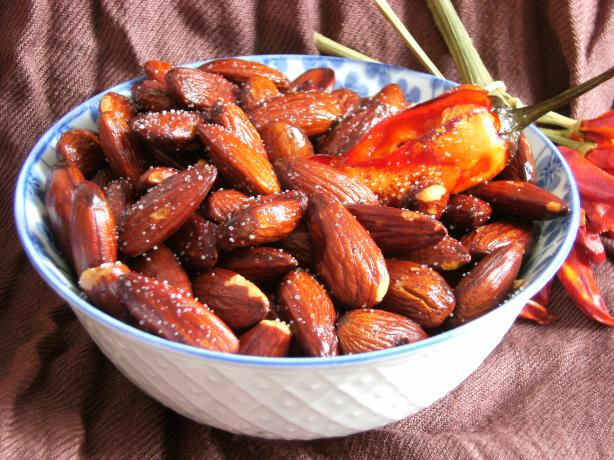 Toasted Almonds in Chile Oil
