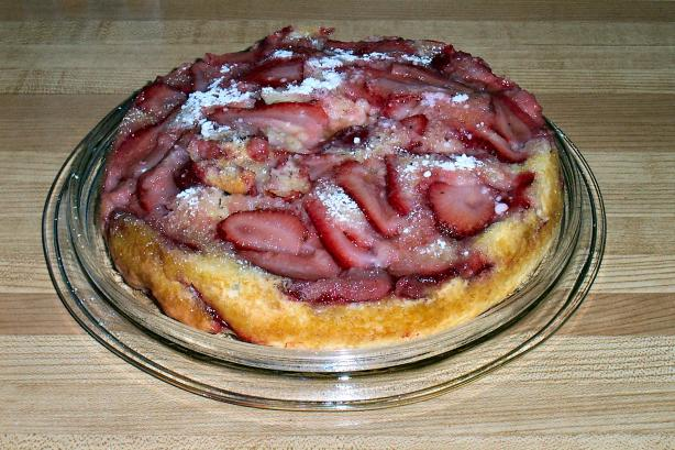 Strawberry Brunch Cake