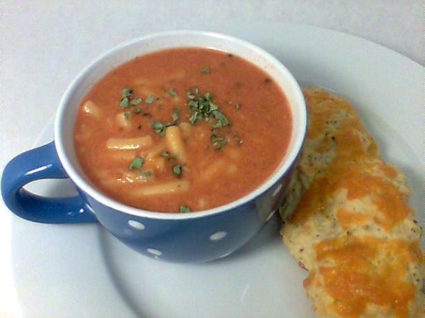 Mama's Tomato Macaroni Soup