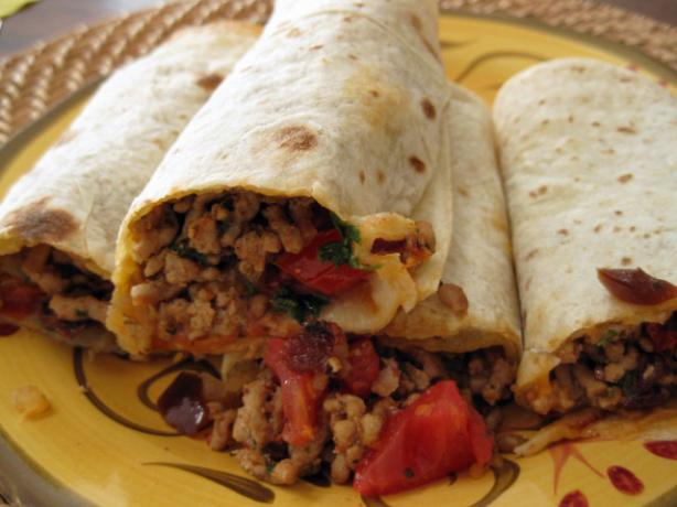 Chipotle Pork Burritos