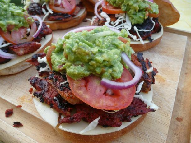 Achiote Pork Torta - (Sandwiches)