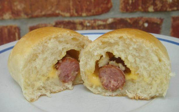 Sausage Kolaches - Klobasnicky