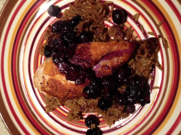 Blueberry Chicken Breast