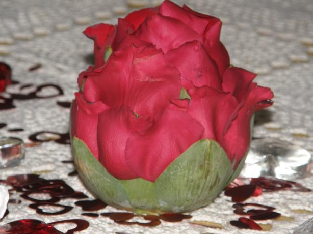 Artichoke Rose Garnish