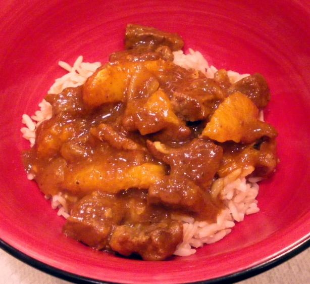 Beef and Orange Curry
