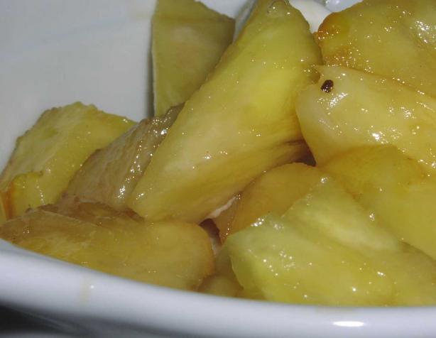 Easy Sauteed Pineapple