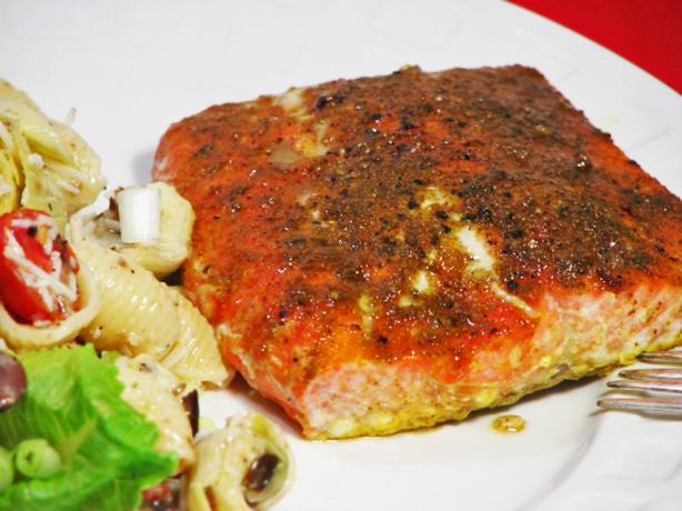 Easy Spiced Salmon