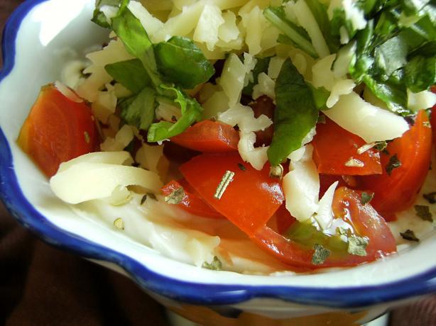 Philly Tomato-Basil Dip