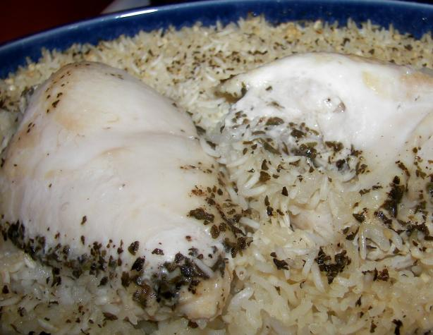 Yiayia's Chicken and Rice