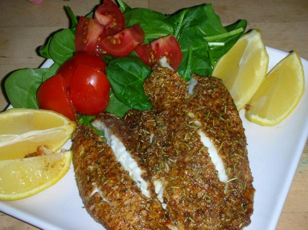 Parmessan Crusted Tilapia