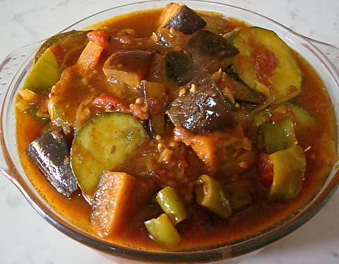 Indian Style Ratatouille