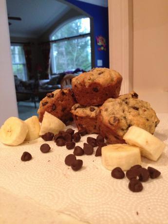 Miss Cindi's Banana-Chocolate Chip Muffins