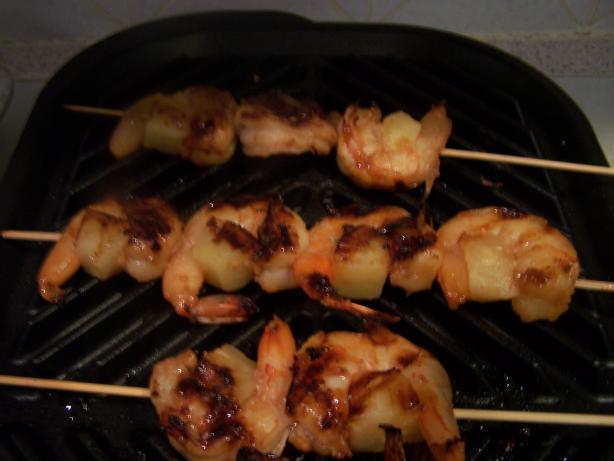 Teriyaki Shrimp Skewers