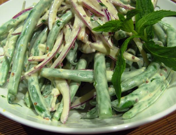 Green Bean and Mint Salad