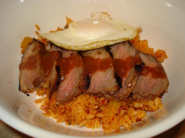 Korean Steak and Eggs
