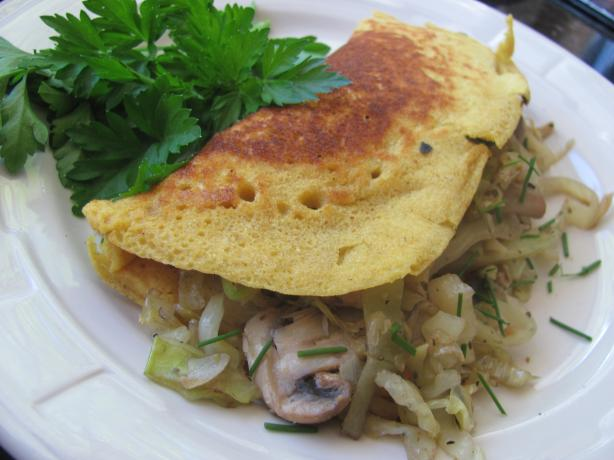 The Elegant Eggless Omelet!