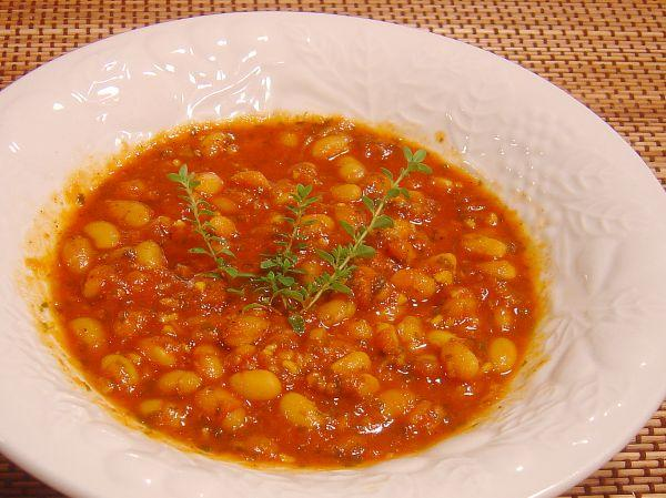 Navy Beans With Moroccan Flavor