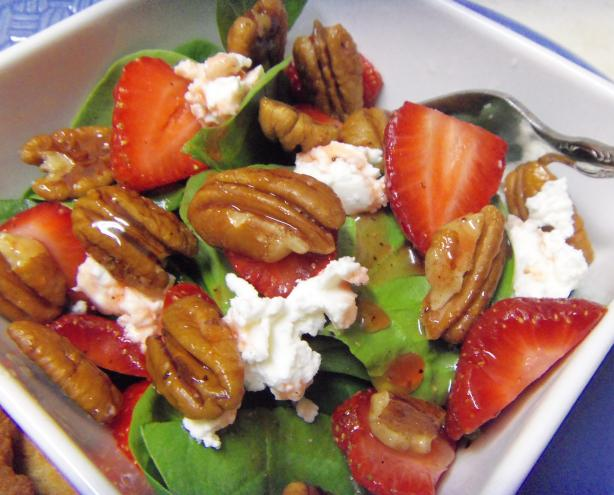 Central Market's Tootie Fruity Cosmos Strawberry Salad