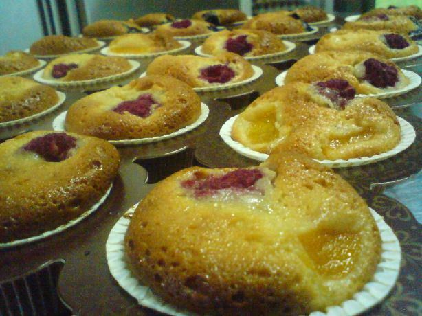 Financier Cupcakes