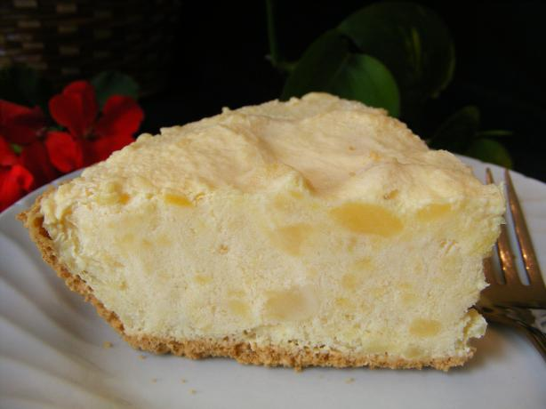 Pineapple Ice Cream Pie