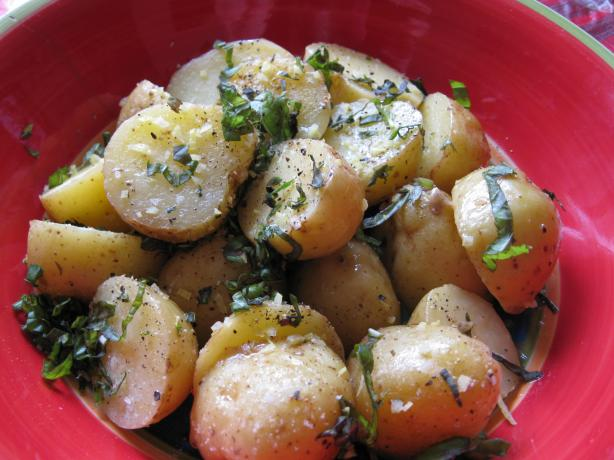 Lemon-Basil Potatoes