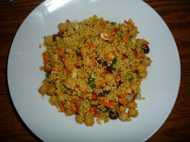 Quinoa Lime Biryani