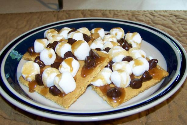 Open-Faced S'mores