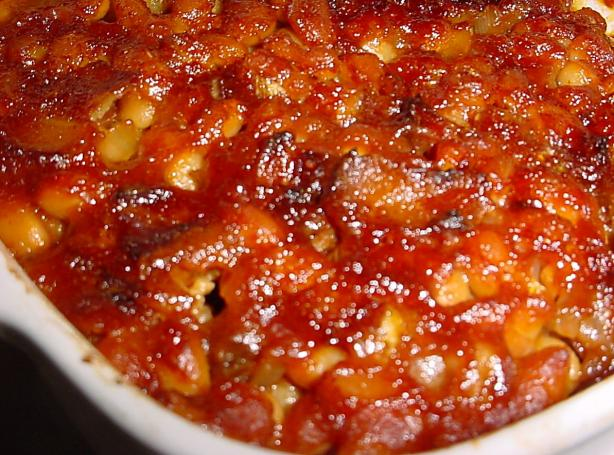 Southwestern Chipotle Baked Beans
