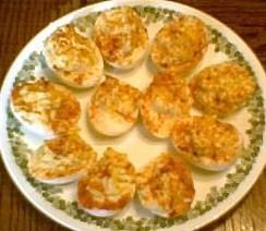 Ranch Deviled Eggs