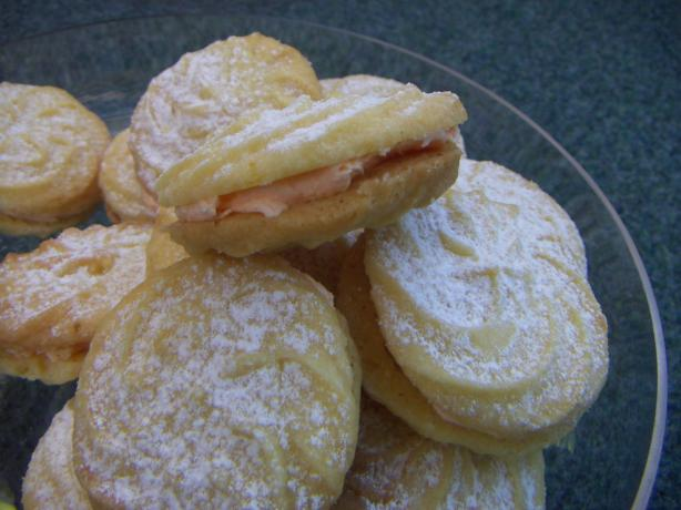 Viennese Orange Kisses