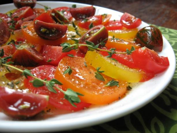 Tomatoes With Lemon Thyme