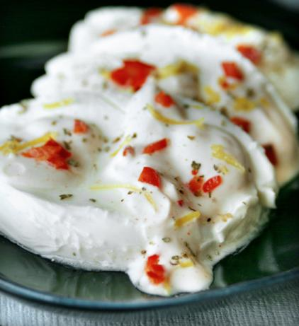 Mozzarella With Lemon and Yoghurt