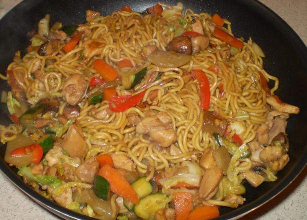 Poodle Doodle (Malaysian Noodle Stir-Fry)